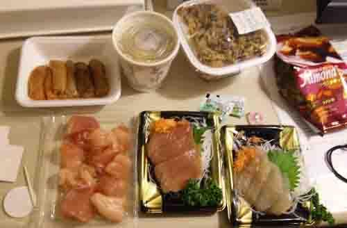 新潟での夕食