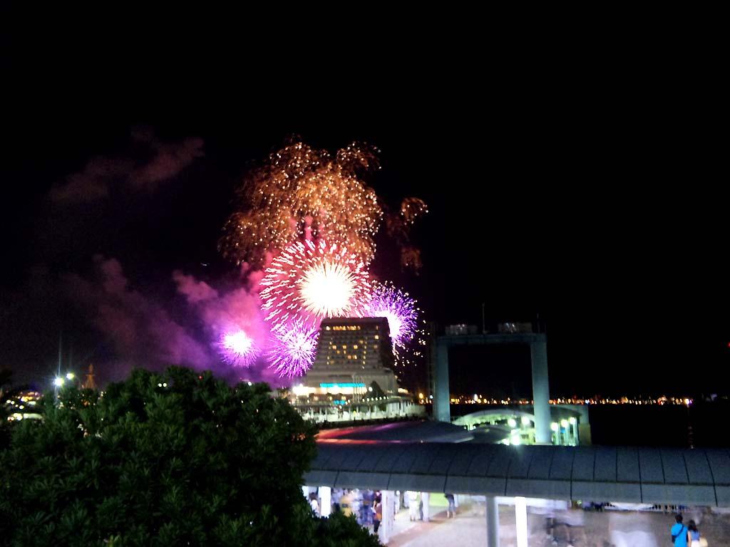 神戸市:第40回みなとこうべ海上花火大会 まとめ