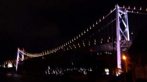 門司から見た関門橋