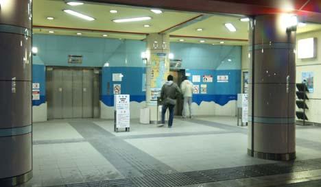 関門トンネル人道下関側入り口エレベーター