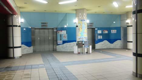 門司側入り口エレベーター