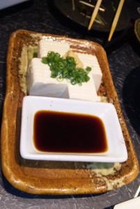 打ち上げでの豆腐