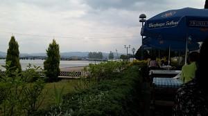 ドイツレストランからの眺め