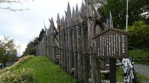 石田三成の陣営外壁
