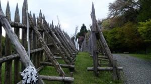 石田三成の陣営外壁2