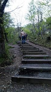 石田三成の陣への道