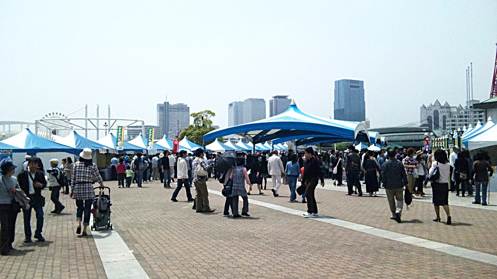 GW 4、5日は神戸のイベントに行ってきました。