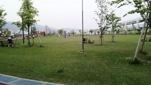 最近出来た公園