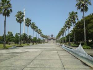瀬戸大橋記念館回廊