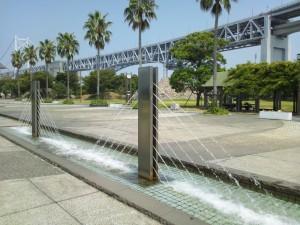 瀬戸大橋型噴水