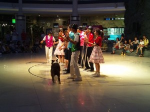 ワンコとダンスのアトラクション