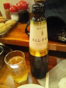 アルコールは止めてビアテイスト