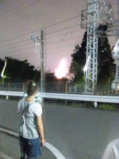 猪名川花火大会やってます