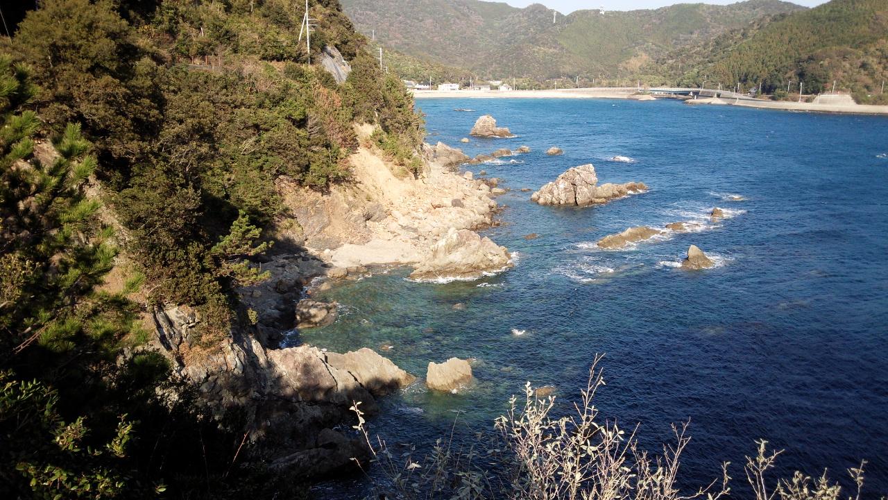 徳島の旅 大浜海岸 ~ えびす洞 ~ ドイツ館 ~ 渦潮の道 (2014/12/30 ~ 2015/01/01)